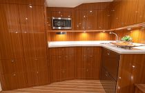Galley on the Viking 46