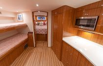 Lower Deck on the 46 Billfish