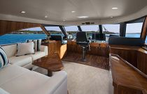 Viking Yachts 80 Enclosed Bridge Deckhouse