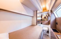 Guest room on the Navetta 52