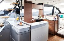 Galley on Princess S62