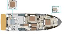 Lower Deck Layout Navetta 64
