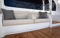Viking Yachts 72 Enclosed Bridge Mezzanine