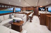 Viking Yachts 72 EB Salon Full View