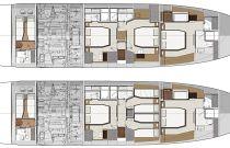 Lower Deck Layout - Prestige 690S