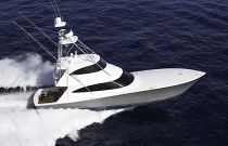 Viking Yachts 72 Enclosed Bridge Haze Gray Hull