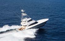 Viking Yachts 72EB Starboard Running Image