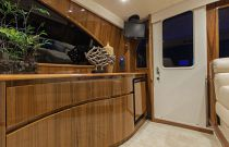 Viking Yachts 66 Enclosed Bridge Entry