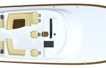 Viking 54 Open Main Deck Layout