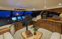 Viking Yachts 66EB Flybridge Interior Photo