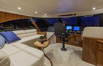 Viking Yachts 66 Enclosed Bridge Convertible Flybridge