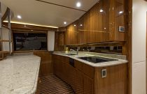 Viking 66EB Holly and Teak Galley Flooring