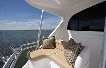 Viking Yachts 92 Convertible Aft Deckhouse Mezzanine