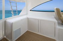 Viking Yachts 52 Open Stowage Compartments
