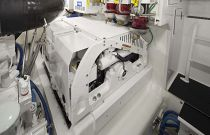 Viking 52 Open Engine Room Detail