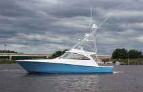 Viking Yachts 48 Sport Tower Port Side Still Image