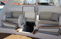 Viking Yachts 48 Sport Tower Day Hatch To Engine Room
