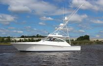 Viking Yachts 48 Open Port Side Idle