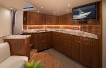 Viking Yachts 48 Open Salon TV
