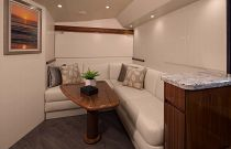 Viking Yachts 48 Open Dinette Seating