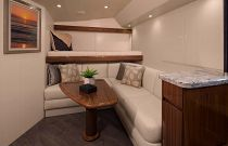 Viking Yachts 48 Open Leather Sofa