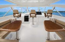 Viking Yachts 48 Open Three Pedestal Helm Seats