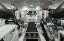 Viking Yachts 48 Open Engine Room