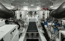 Viking Yachts 48 Open Engine Detail Image
