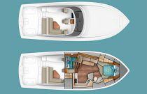 Viking Yachts 44 Open Layout