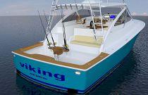 Viking Yachts 44 Open Aft Image