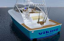 Viking Yachts 44 Open Fish Rigged