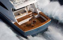 Viking Yachts 80C Cockpit Running