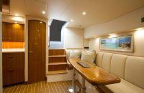 Viking Yachts 44 Open Salon Dinette