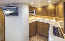 Viking Yachts 42 Sport Tower Salon TV