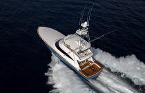 Viking Yachts 80C Aerial Running Image