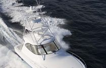 Viking Yachts 42 Sport Tower Wraparound Windshield