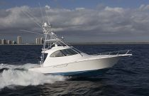 Viking Yachts 42 Sport Tower Starboard Side Run Image