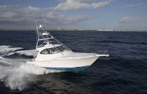 Viking Yachts 42 Sport Tower Aerial Photo