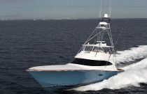 Viking Yachts 80 Convertible Running Shot