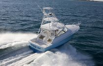 Viking Yachts 42 Open Aerial Aft Photo