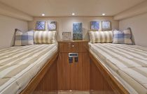Viking Yachts 42 Open Bunk Berth Stateroom