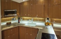 Viking Yachts 42 Open Galley Photo