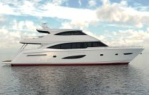 Viking 93 Motor Yacht Starboard Side View