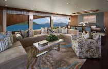 Viking Yachts 93 Motor Yacht Salon Seating