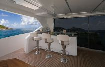 Viking 93 Motor Yacht Bridge Bar Stools