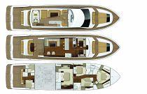 Viking Yachts 82 MY Layout