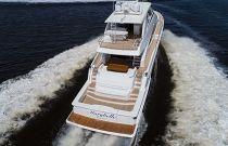 Viking Yachts 82 MY Running Aft