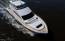 Viking Yachts 82 Motor Yacht Aerial Image