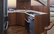 Viking Yachts 75 MY Granite Galley Countertops