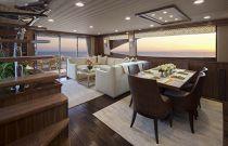 Viking Yachts 75 Motor Yacht Dining Room
